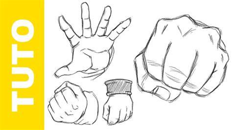 comment dessiner dragon ball  les mains tutoriel youtube