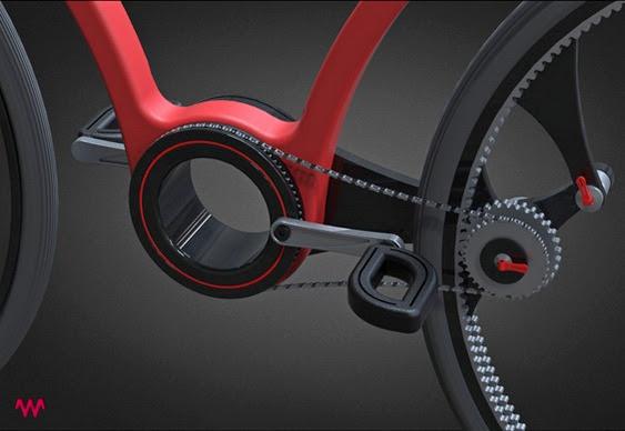 Twist Bike concept