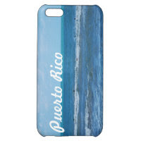 Puerto Rican Beach Cover For iPhone 5C