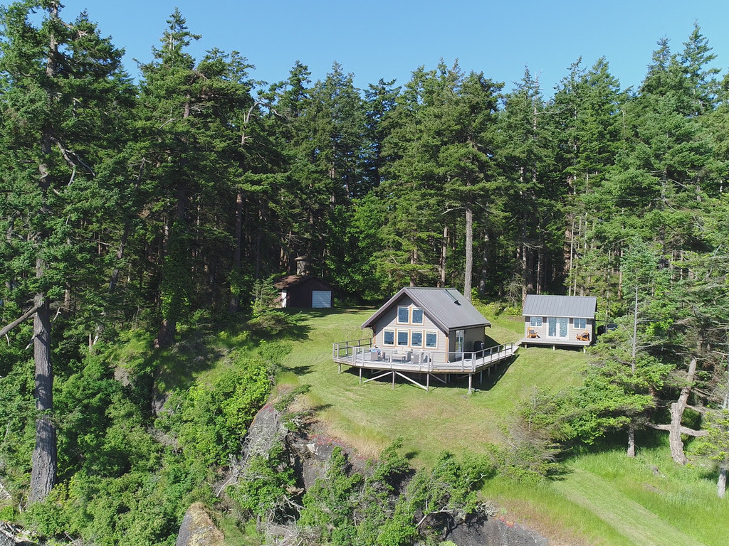 """Denman Island, Vancouver Island, British Columbia, Canada Submitted by Matt Taylor / @denmanislandcabin """"Cabin built by, and in our family for 40 years. """""""