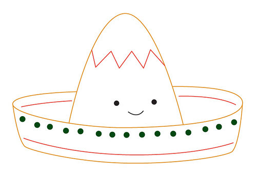 Sombrero Pattern for Cinco de Mayo!