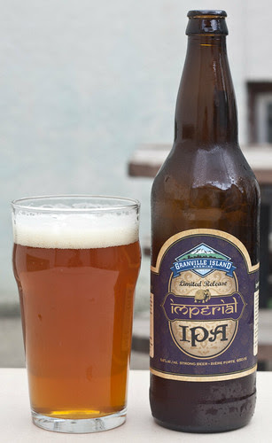 Review: Granville Island Imperial India Pale Ale by Cody La Bière