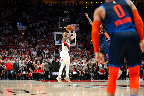 e4781ef257fb Damian Lillard fires back at Paul George   If anything