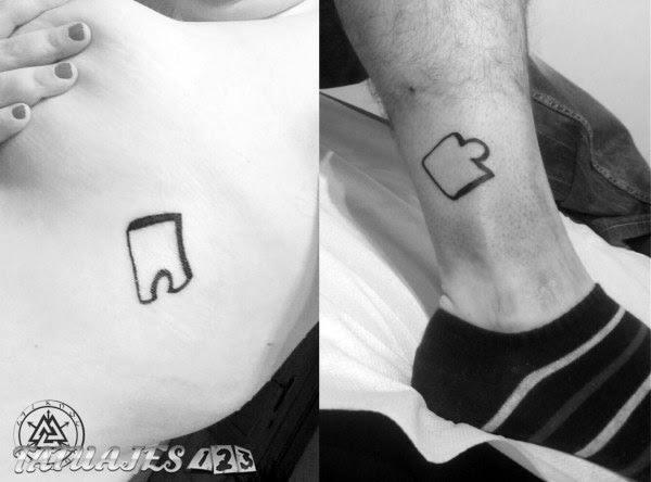Piezas De Puzzle Tatuajes 123
