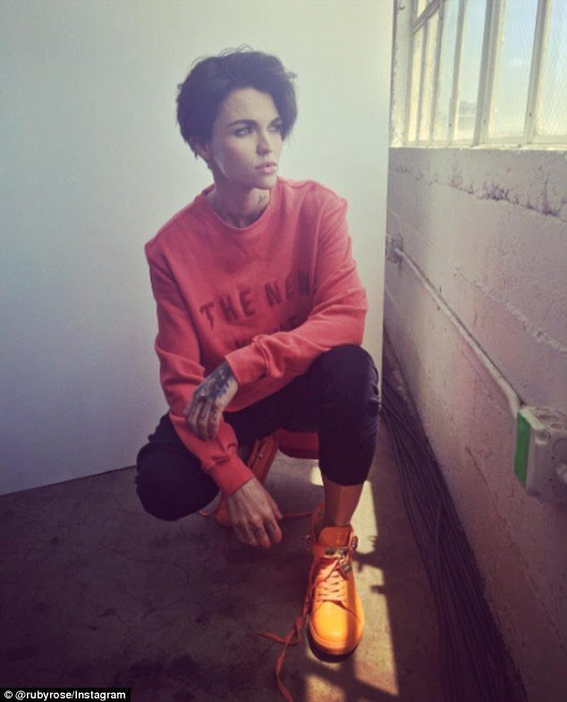 Orange is the new black! Ruby Rose, 30, wore an orange ensemble for a different reason on Friday as she took to Instagram to throw her support behind America's National Gun Violence Awareness Day