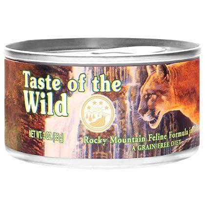 taste   wild canned cat food feline formula