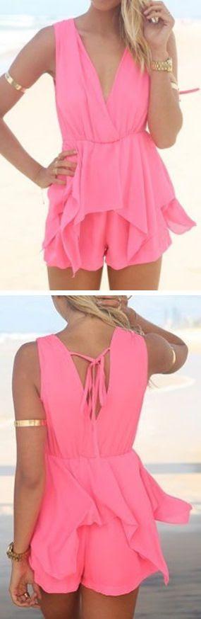 Pink Chiffon Jumper // SO cUte!