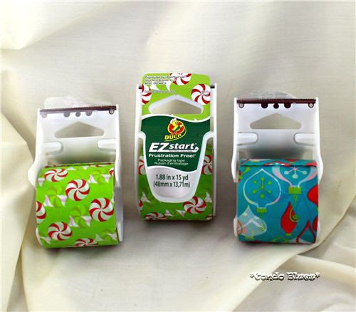 peppermint ornament ez start printed packing tape