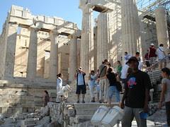 Propylaea di Acropolis, Athens, Greece