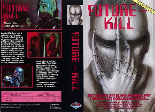 Future Kill (VHS Box Art)