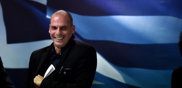 Yanis Varoufakis foi alvo de montagem na TV alemã