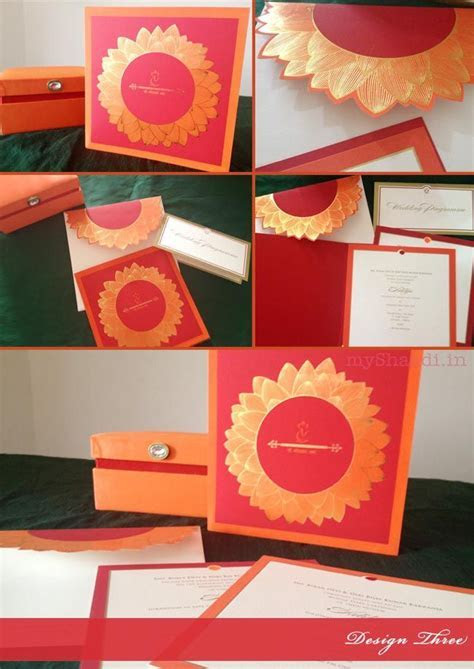 Indian Wedding Invitation Cards: Trendy Design Ideas