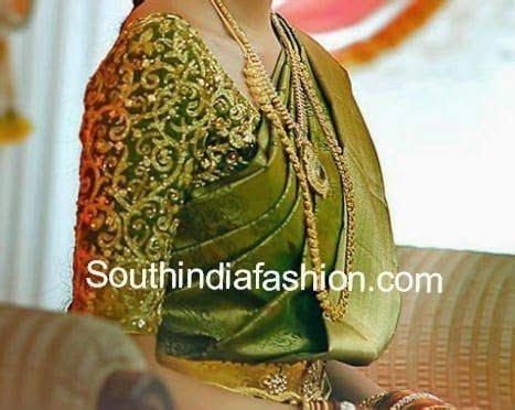 Top 10 Blouse Designs for Wedding Silk Sarees ? South