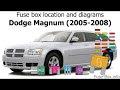 Get 05 Dodge Magnum Fuse Box Diagram Pics