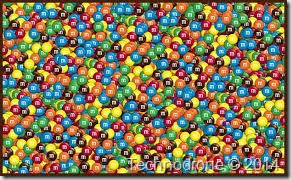 M&M's - A lot of them