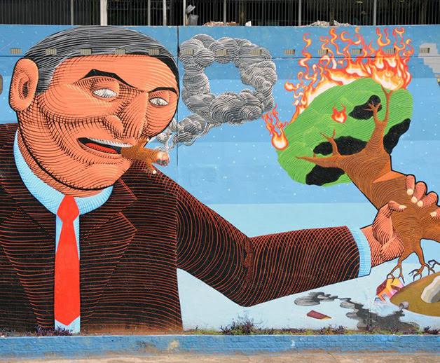 grafite o nunca