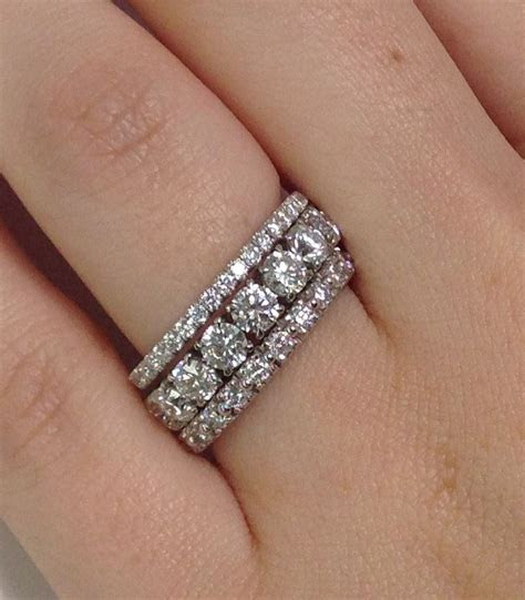 Wedding Rings: How Do People Wear Eternity Bands?   My