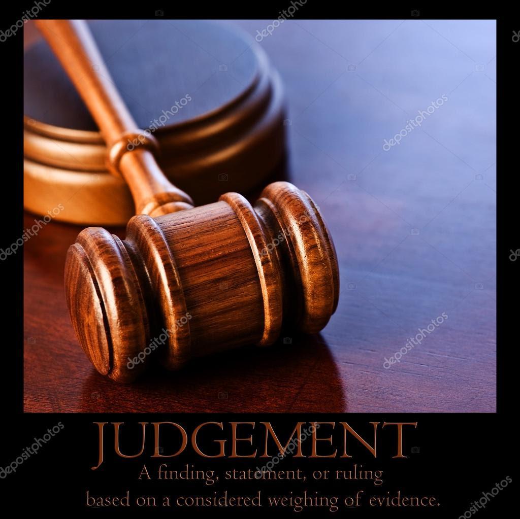 Resultado de imagem para julgamento definição