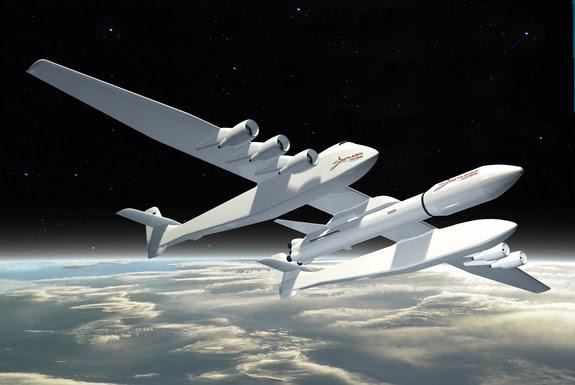 perierga.gr - Πελώριο σκάφος θα εκτοξεύει διαστημόπλοια!