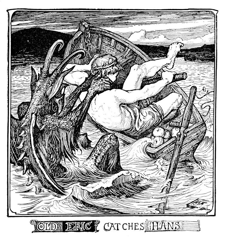 Henry Justice Ford - The pink fairy book, edited by Andrew Lang, 1897 (illustration 9)