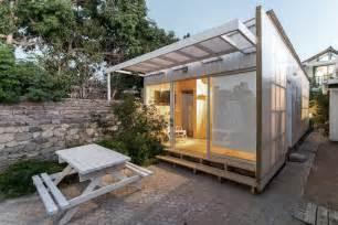 cabana de policarbonato alejandro soffia archdaily brasil