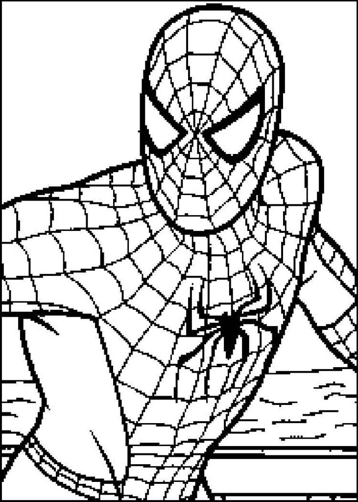 Spiderman Christmas Coloring Pages at GetColorings.com ...