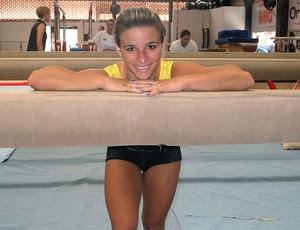 Jade Barbosa no treino da seleção de ginástica (Foto: Danielle Rocha / Globoesporte.com)