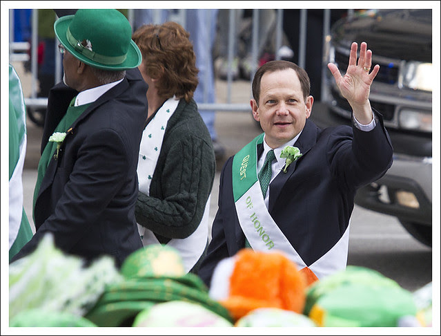 St. Patrick's Parade 12 (Mayor Slay)