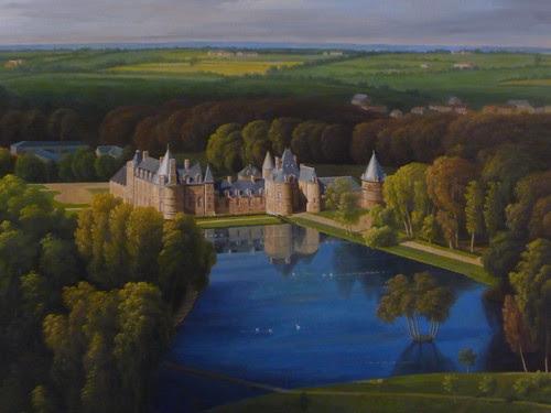Château de Canisy - Painting