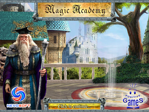 Magic Academy title screen