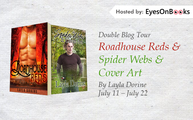 Roadhouse Reds - Spider Webs & Cover Art Banner