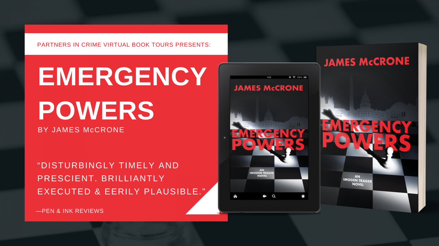 Emergency Powers by James McCrone Banner