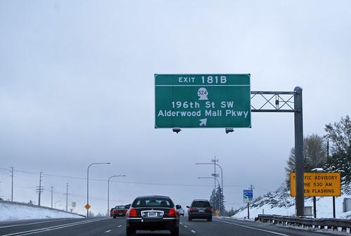 I-5 @ SR 524