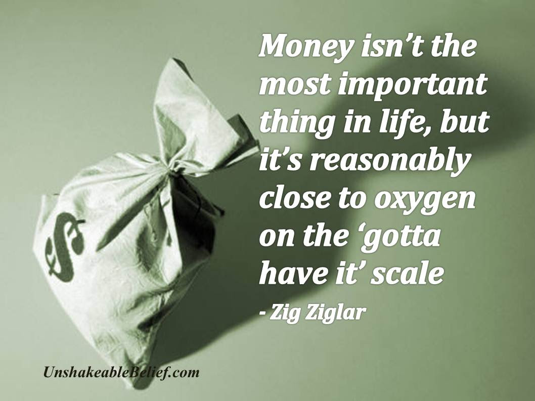 Inspirational Life Money Quotes