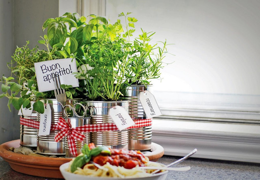 Kitchen Herb Garden Ideas | Carters Kitchenion - Amazing ...