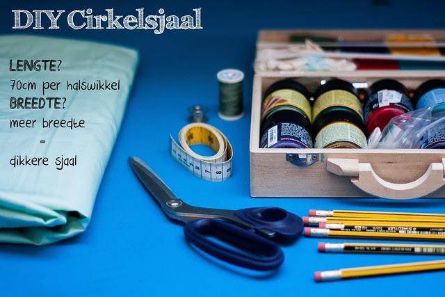 DIY Cirkelsjaal 1
