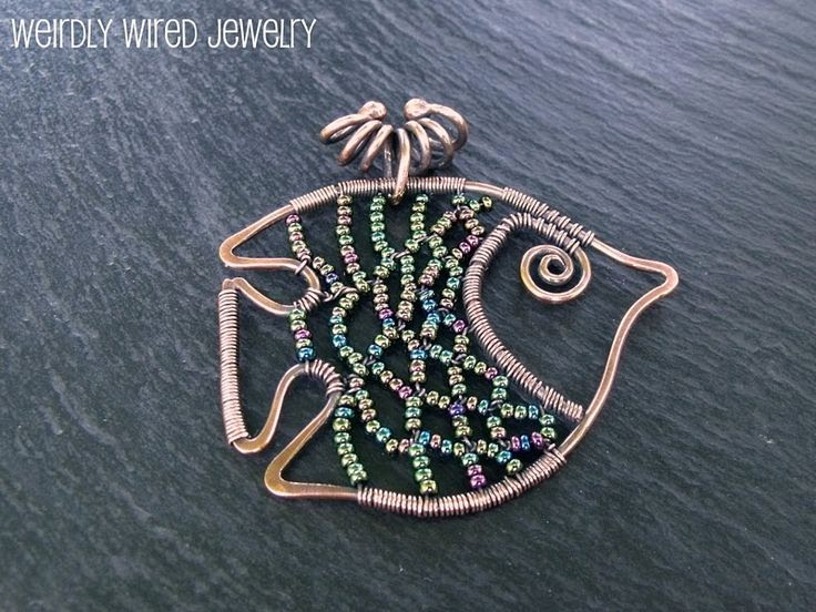 Wire and Bead Fish