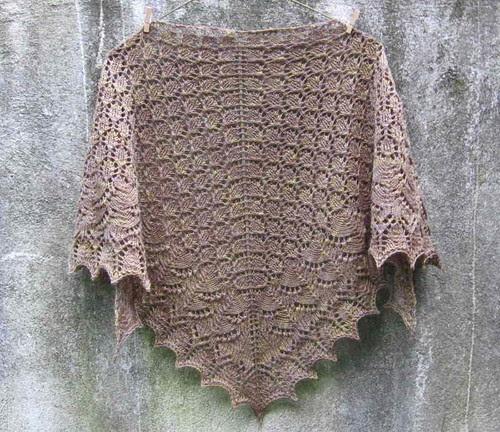 Swallowtail shawl