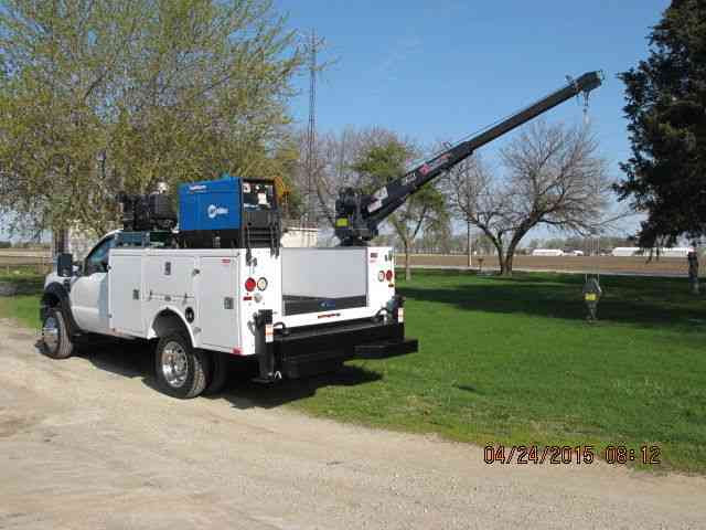 Ford F550 2009 Utility Service Trucks