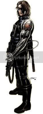 Barnes como Soldado Invernal - Winter Soldier