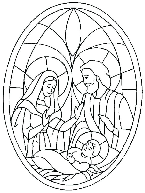 Precious Moments Nativity Scene Coloring Pages at ...