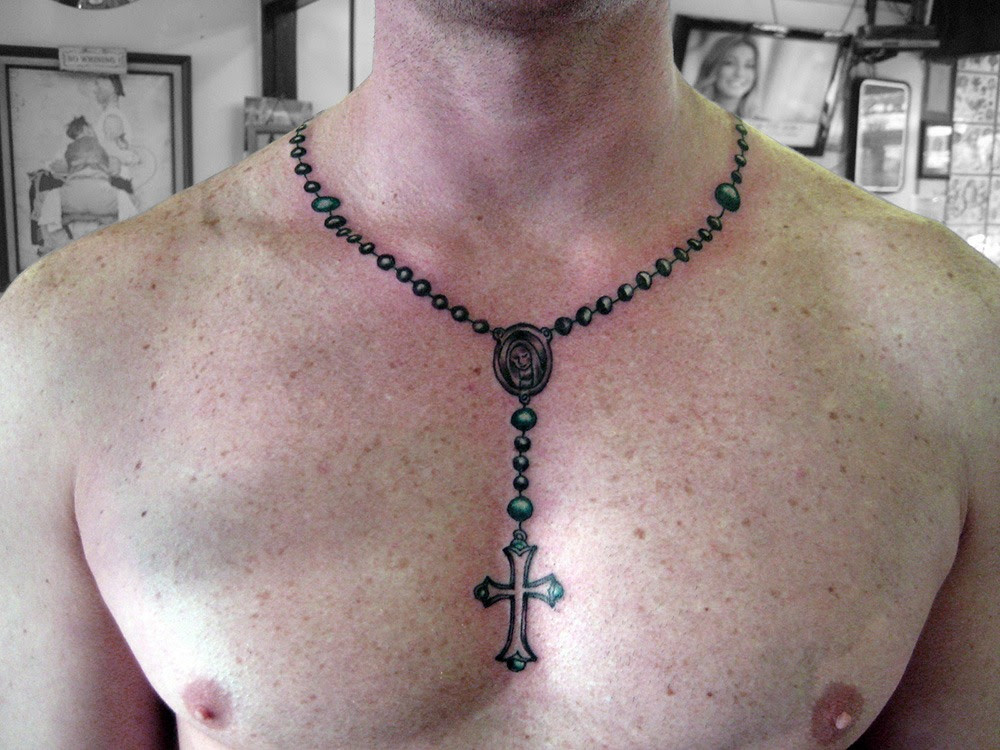31 Rosary Beads Tattoos With Symbolism And Meanings Tattoos Win