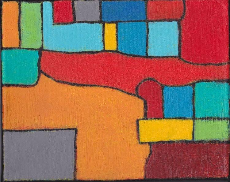 Abstract Original Art - Replay