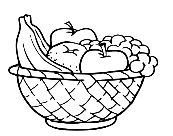 Meyve Tabağı Resmi Boyama Gazetesujin