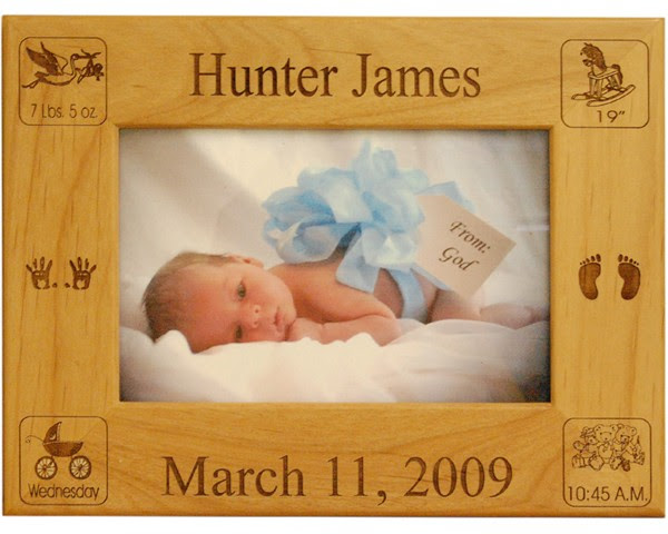Birth Announcement Frame Name Picture Frames