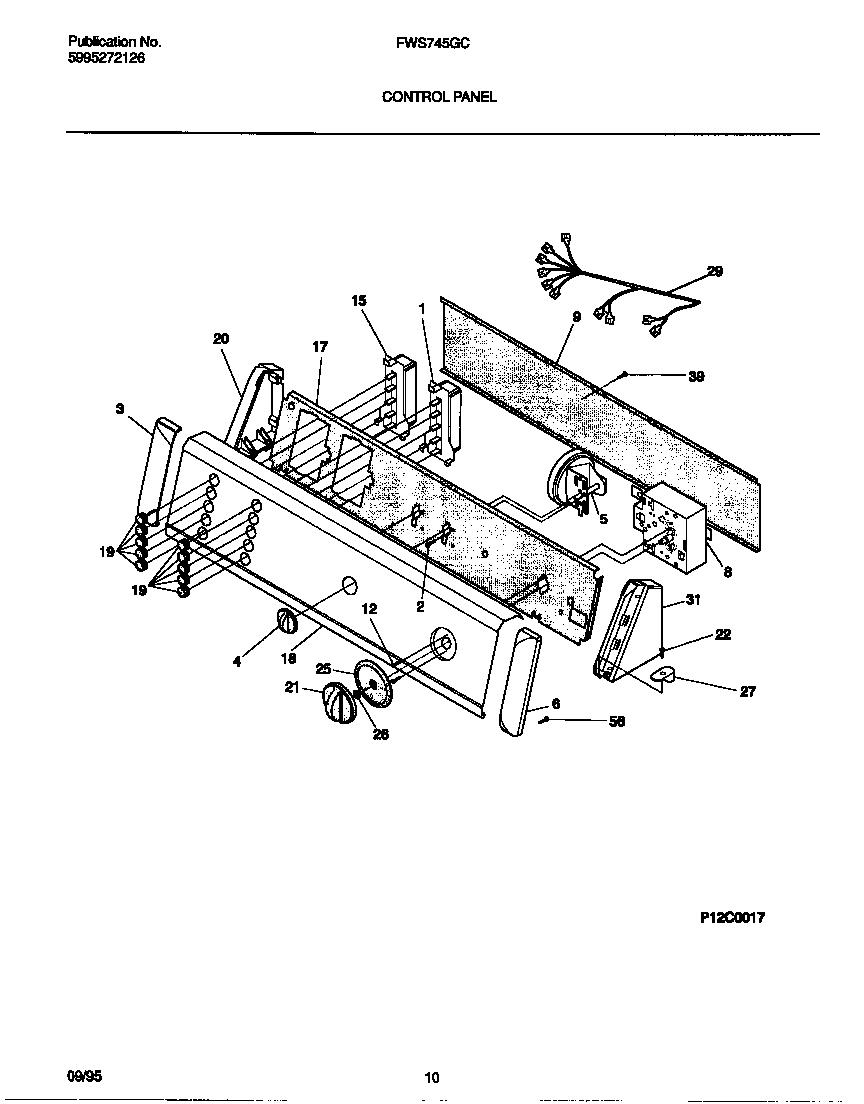 34 Frigidaire Washer Parts Diagram