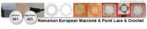 Romanian Point Lace / Romanian Macrame / Romanian Crochet. Get yours at bighugelabs.com/flickr