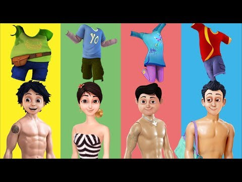 Wrong Clothes Shiva Antv And Friends Finger Family Song Nursery