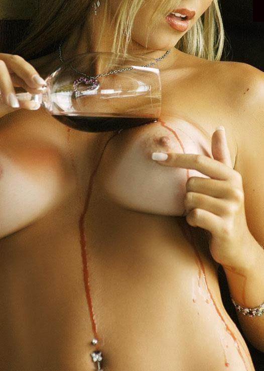Visão perfeita do meu corpo,vinho derramado,prova-me...