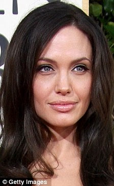 I want to be like you: But the statuesque girl says she wants to known as Angelina's likeness